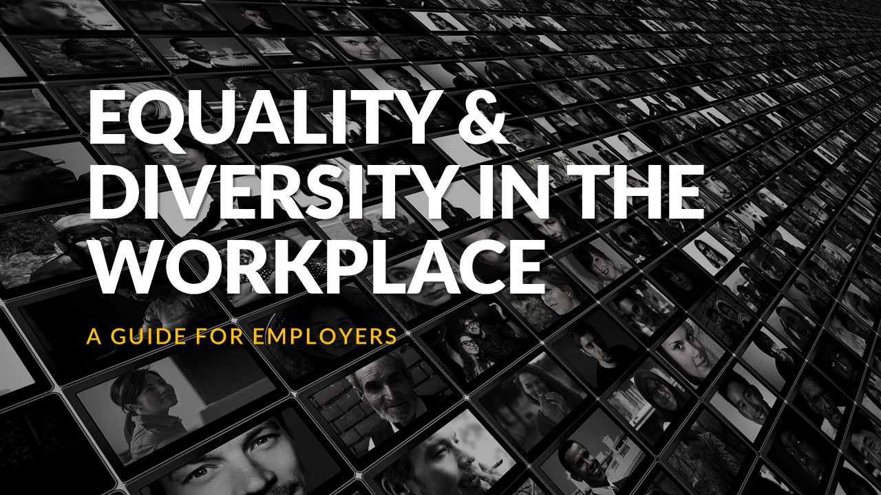 Equality & Diversity in the Workplace – A Guide for Employers – Synopsis