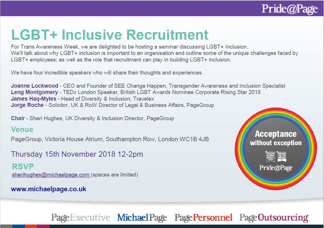 Inclusive Recruitment Invite