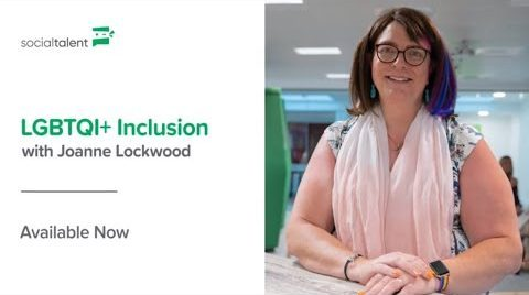 Joanne Lockwood – Social Talent LGBTQI+ Inclusion