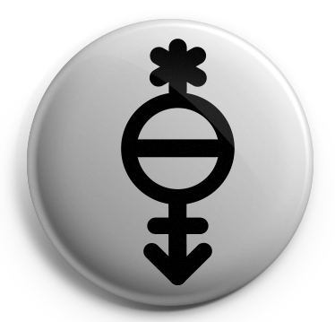 Pangender Glyph