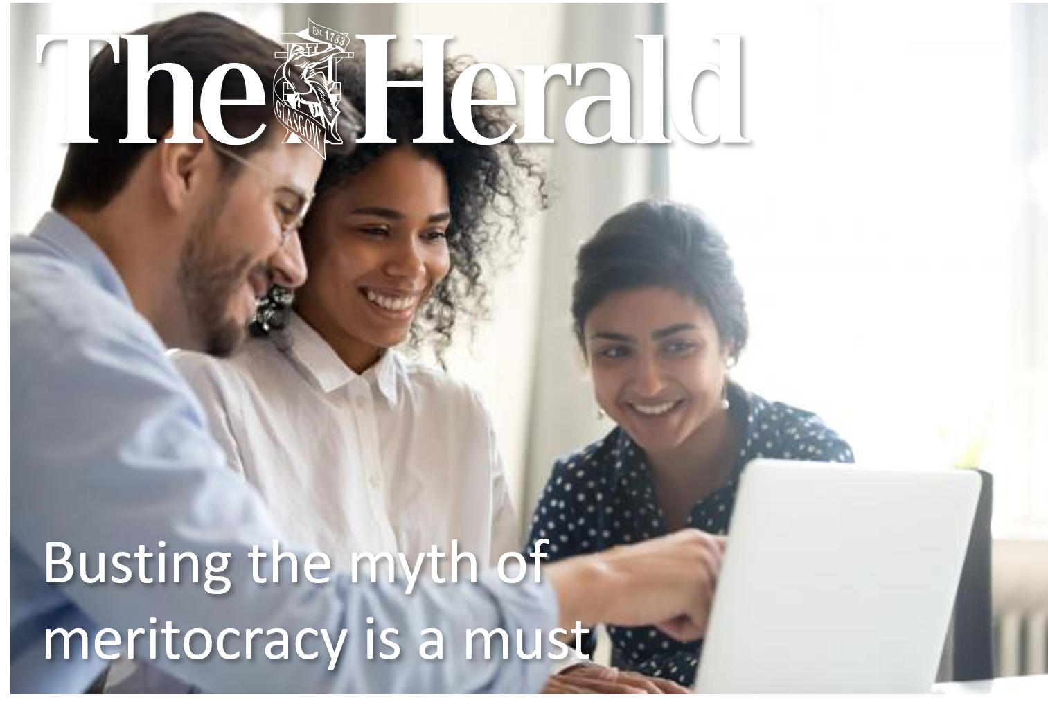 Busting the myth of meritocracy is a must
