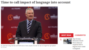Time to call impact of language into account