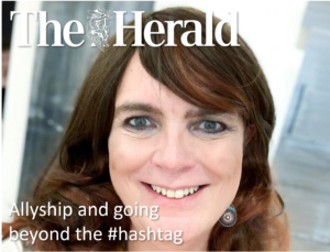 Allyship and going beyond the #hashtag