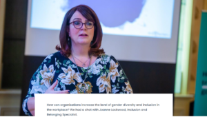 Gender diversity and inclusion in the workplace – an interview with Joanne Lockwood
