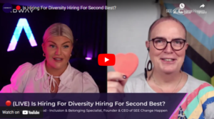Is Hiring For Diversity Hiring For Second Best
