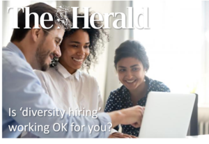 Is 'diversity hiring' working OK for you